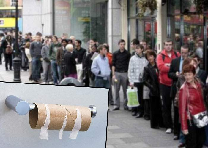 Ca-n Venezuela! România, rămasă fără hârtie igienică după ce toată lumea a mâncat ieri pe Litoral