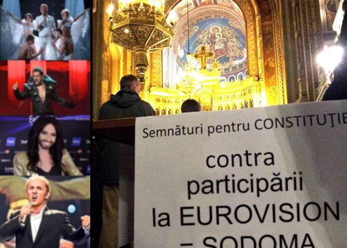 Încă o lovitură contra homosexualilor! Coaliţia pentru Familie adună semnături să nu mai participăm la Eurovision