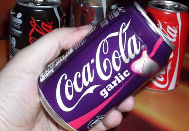 Pentru a avea succes mai mare în România, Coca Cola va lansa varianta cu aromă de mujdei