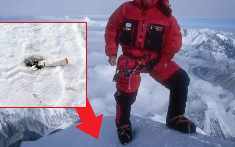 Alpinistul cocalar. El e românul care a lăsat chiştoace pe cele mai înalte vârfuri ale lumii