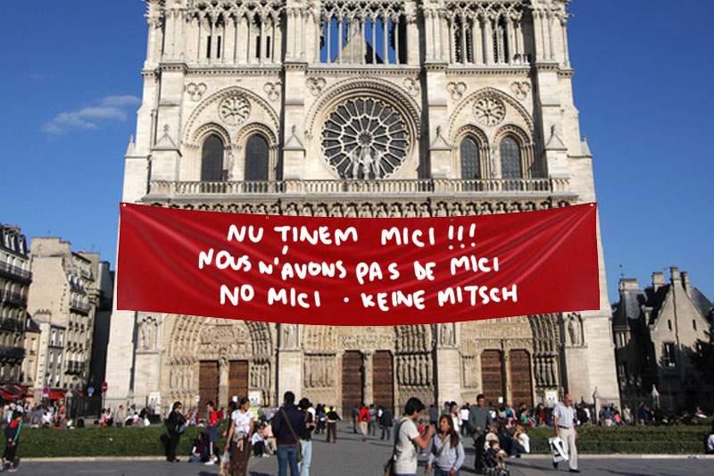 """Francezii, disperaţi: de când cu """"Cocoşatul de la Notre-Dame"""", toţi vin la Notre-Dame şi întreabă de mici"""