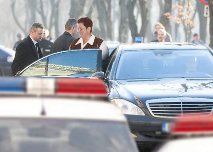 Trist. Poliţistul Godină, lovit de coloana oficială a şefei de la Crucea Roşie Braşov