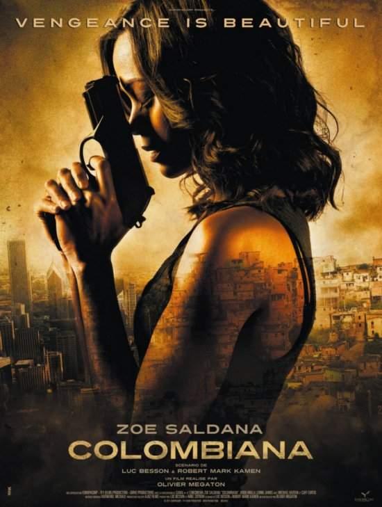 Colombiana – Zoe, fii bărbată!