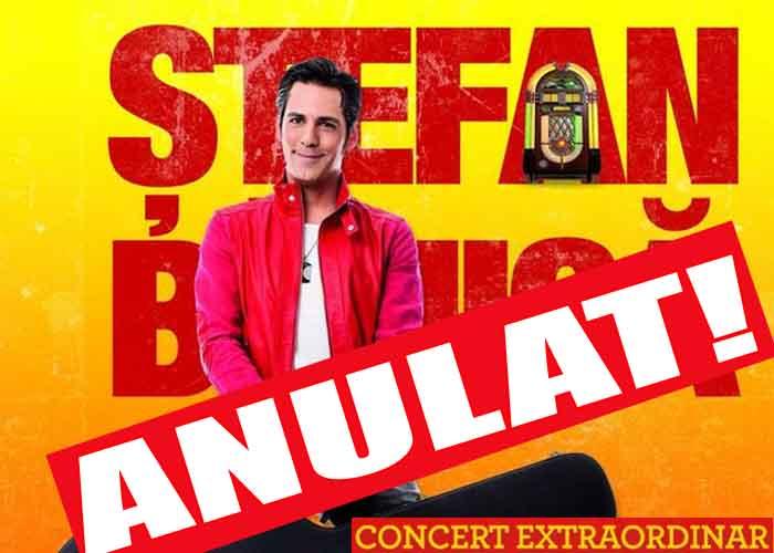 Ştefan Bănică jr. îşi anulează concertele de Crăciun din 14, 17 şi 23 martie