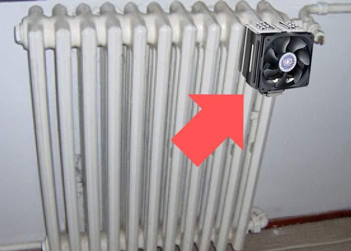 Un calorifer s-a încălzit în căminul Politehnicii! Speriaţi, studenţii i-au montat un cooler