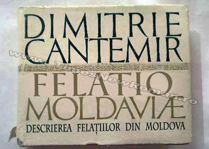 "Literatura de sertar: volumul ""Felatio Moldaviae"", de Dimitrie Cantemir"