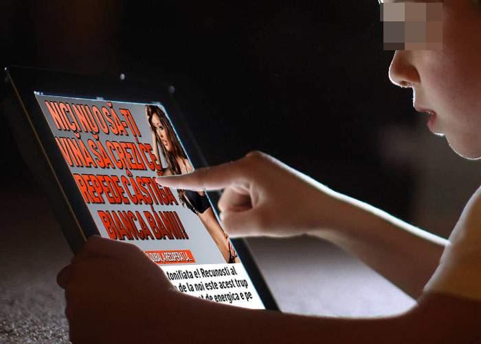 Tot mai mulţi părinţi îşi lasă copiii să intre pe site-uri porno, ca să stea departe de tabloide