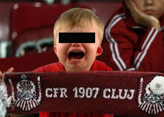 Părinte decăzut din drepturi, după ce a încercat să-şi facă fiul suporter CFR Cluj