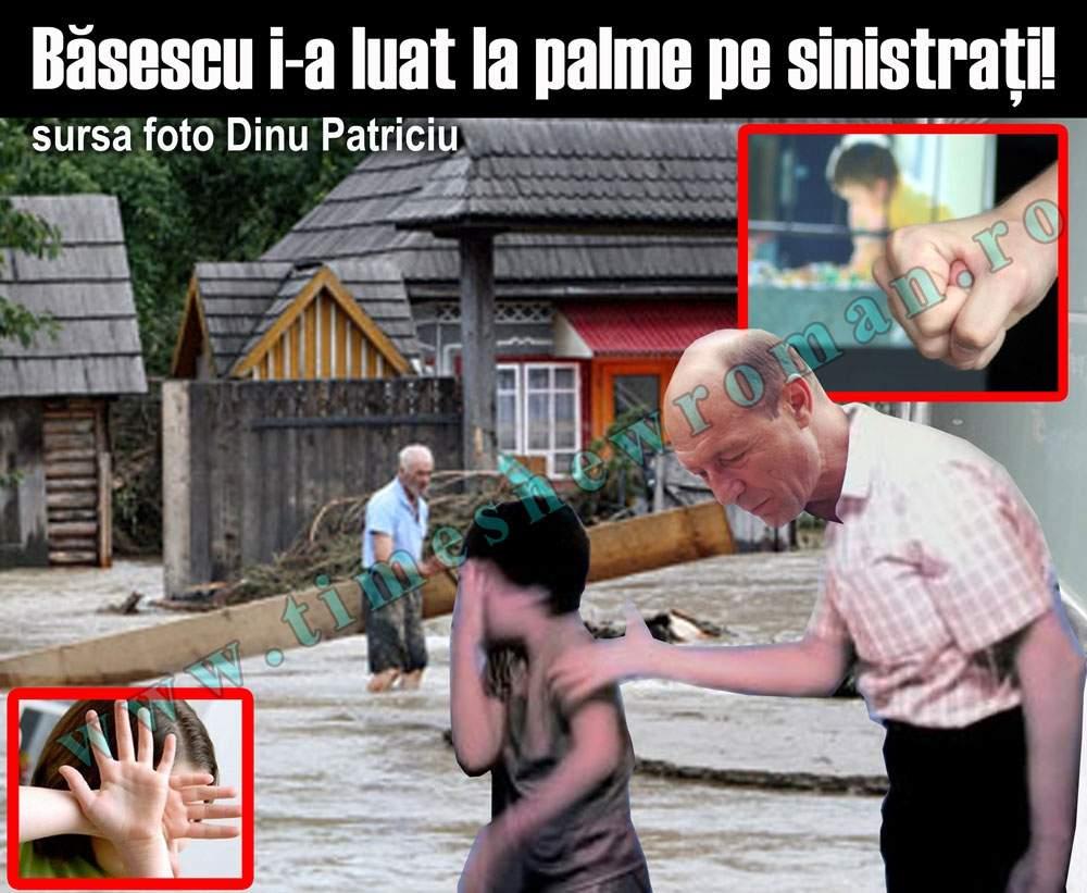 Sinistraţii fug din calea lui Băsescu