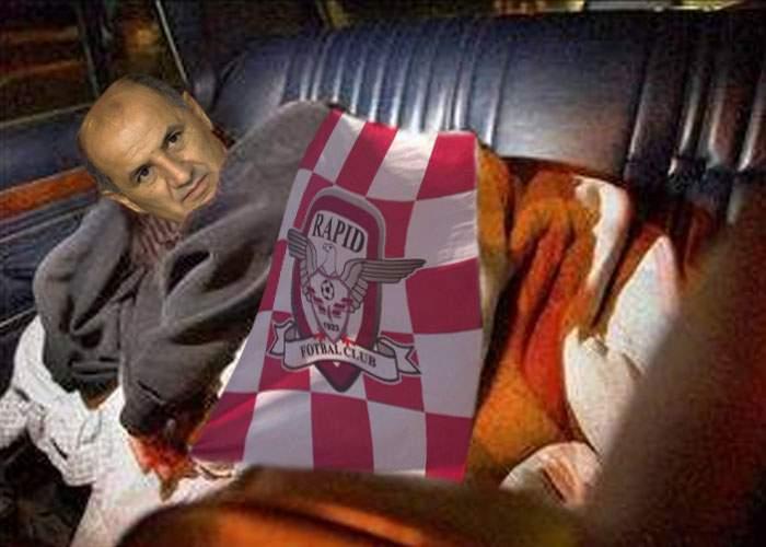 George Copos doarme în maşină, ca să facă economie la întreţinere