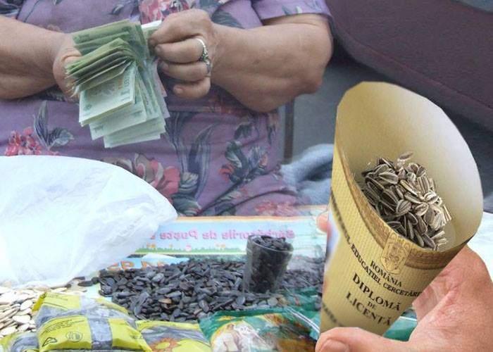 Un român s-a trezit licenţiat în Drept! Cornetul în care cumpărase seminţe era făcut dintr-o diplomă de Spiru Haret