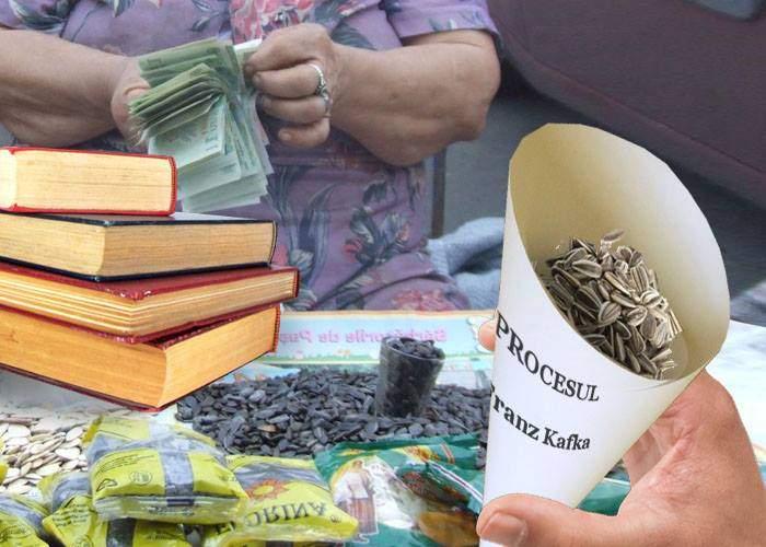 Mii de români au ieşit să spargă seminţe, susţinând că e activitate agricolă