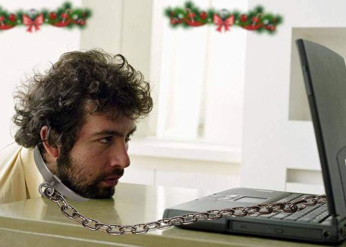 Un corporatist are lanţul prea scurt şi nu ajunge la sala unde se ţine petrecerea de Crăciun