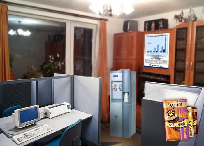 """Un corporatist şi-a amenajat casa exact ca biroul său! """"Abia acum mă pot relaxa în propria casă"""""""