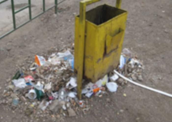 Talent înnăscut: 90% dintre români pot rata coşul de gunoi şi de la 5 cm distanţă