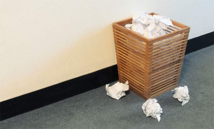Un coş de gunoi dintr-un muzeu de artă modernă, vândut din greşeală pe 3 milioane de dolari
