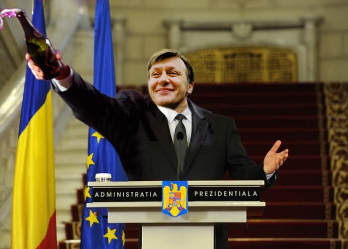 Crin i-a luat şi ultima atribuţie lui Băsescu: A venit beat la serviciu!