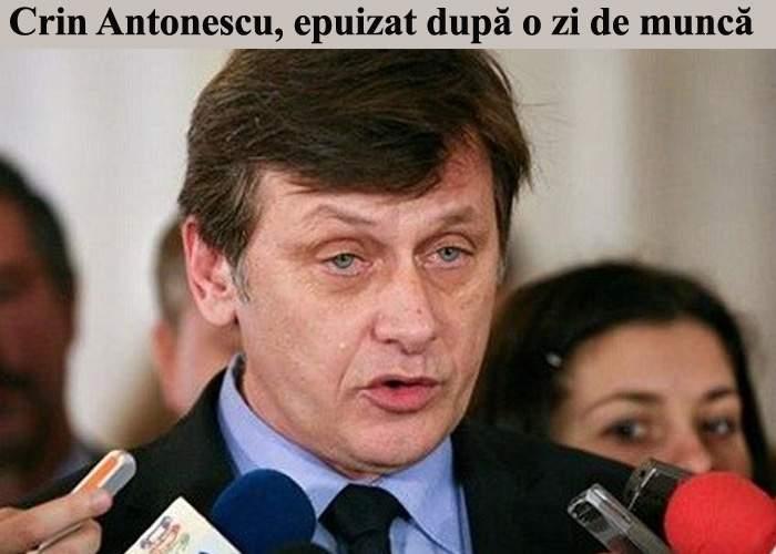 Crin Antonescu, noul preşedinte al Senatului, a intrat în concediu de odihnă pe termen nelimitat
