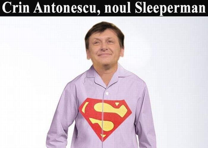Crin Antonescu este noul Sleeperman