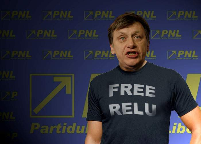 """Crin, la fel de inteligent ca fanii lui Becali: Şi-a făcut tricou cu """"Free Relu Fenechiu"""""""
