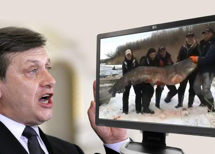 Adevăr sau poveste pescărească? Crin Antonescu susţine că a prins un somn de peste 48 de ore