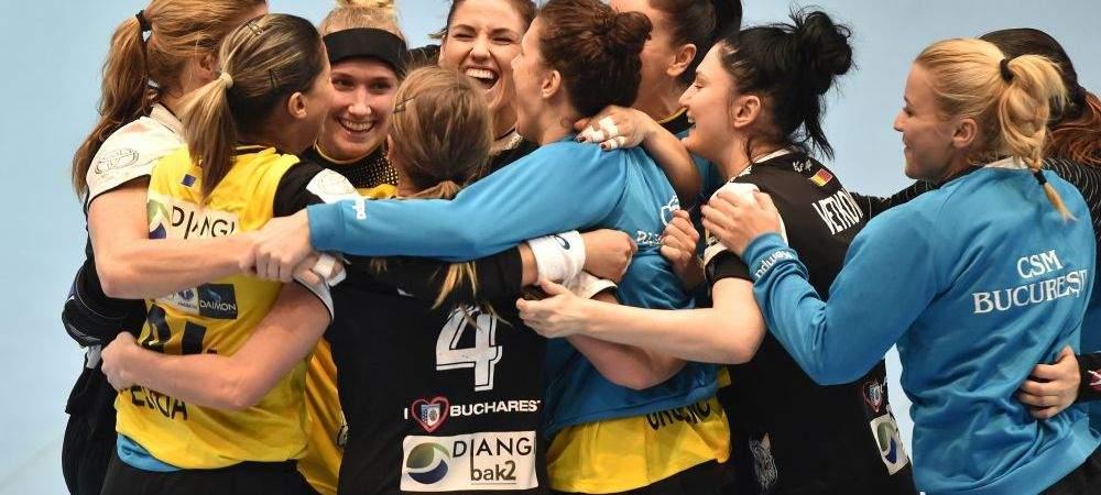 Românii, fericiți după ce CSM București a câștigat finala CL la handbal: Unele fete arată chiar bine