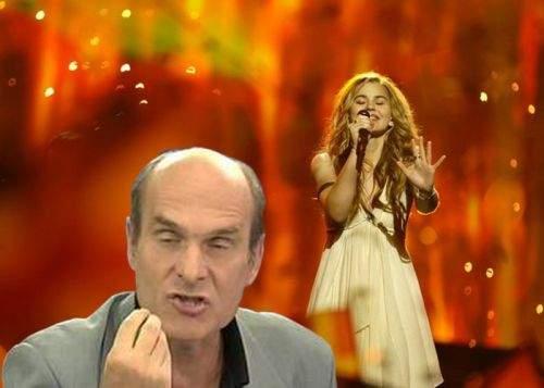 Eurovisionul, extrem de slab! CTP a cântat mai bine inclusiv decât câştigătoarea din Danemarca