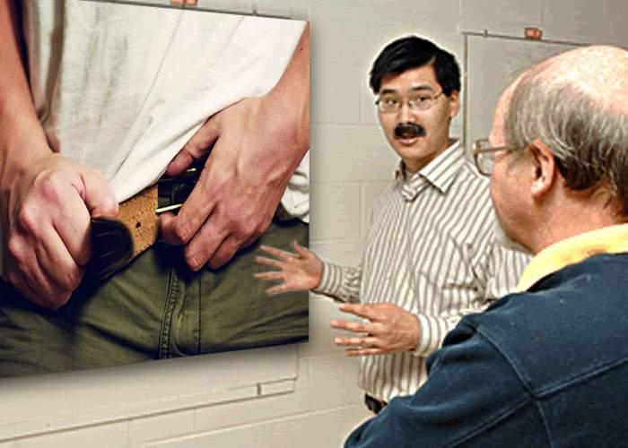 Descoperire uimitoare a unui tată din Vaslui: cureaua e bună şi pentru ţinut pantalonii