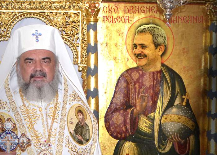 """Liviu Dragnea, lăudat de Patriarhul Daniel: """"E noul Isus, a înviat morţii şi i-a trimis să voteze"""""""