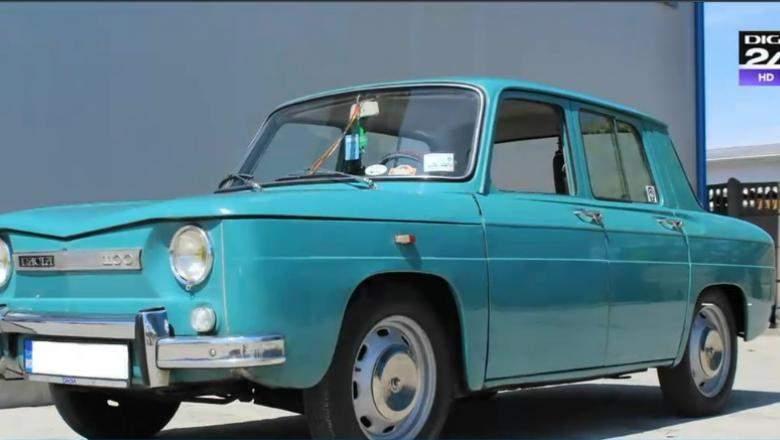 Uzina Dacia reia producţia de la zero. Azi a ieşit pe poartă prima Dacie 1100