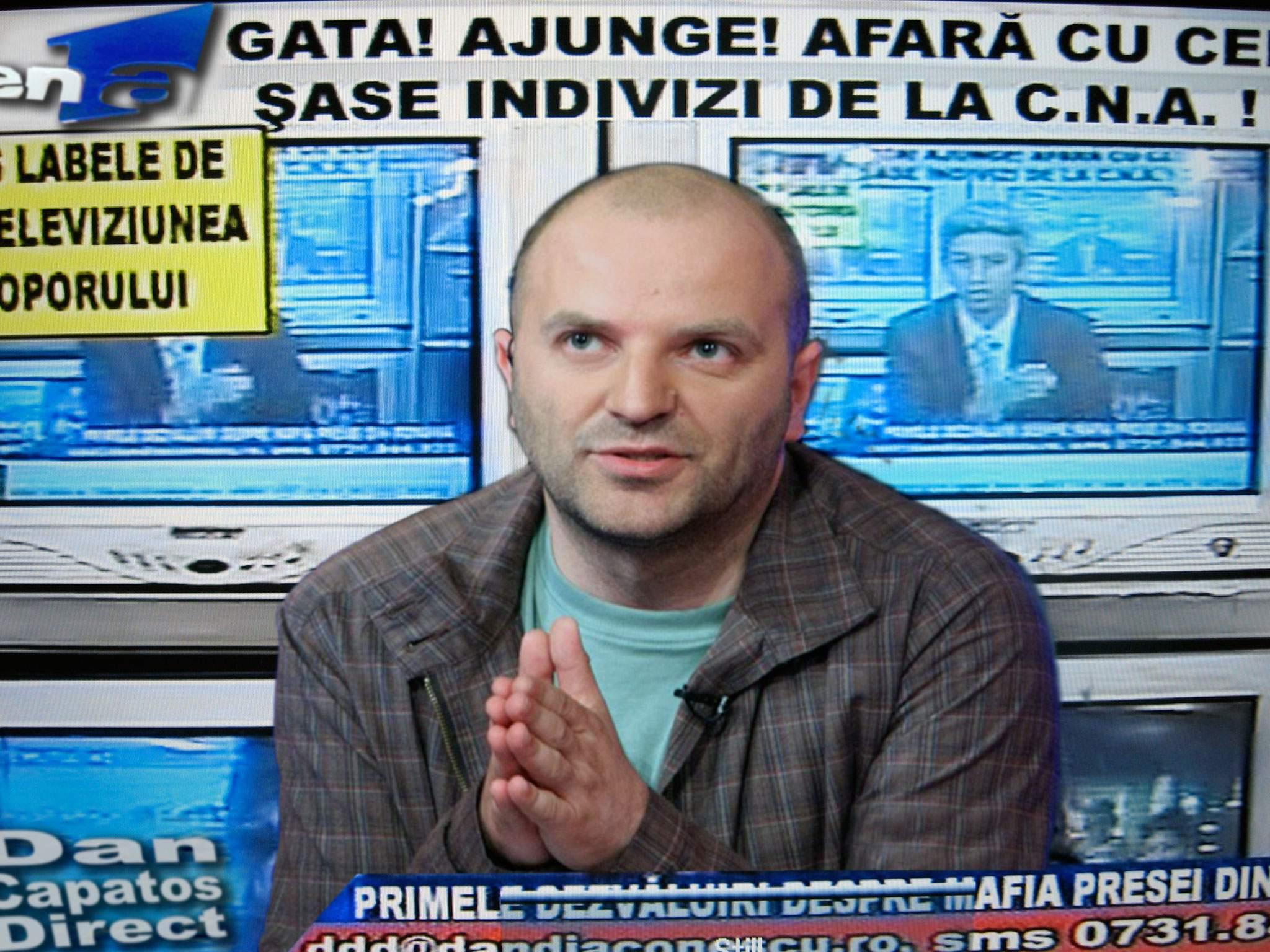 """Dan Capatos, fără concurență după închiderea OTV: """"Sunt regele penibilului"""""""