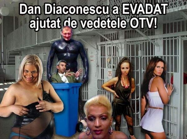 Dan Diaconescu a evadat din arest, ajutat de mai mulţi complici