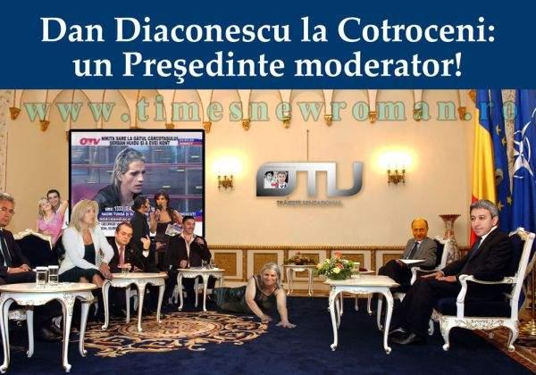 Dan Diaconescu, preşedintele moderator la care au visat românii