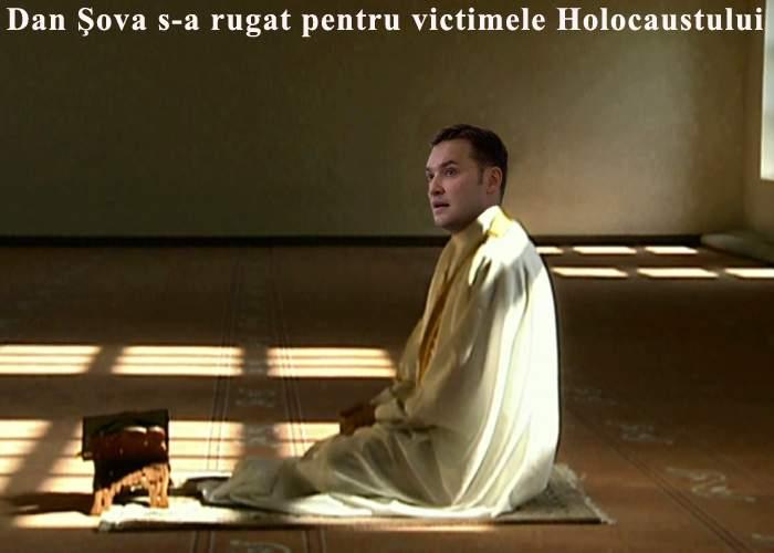 De Ziua Holocaustului, Dan Şova s-a rugat pentru victime într-o moschee