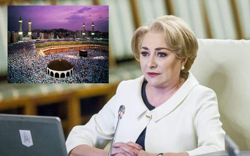 Ca să împace şi lumea arabă, Dăncilă anunţă că mută ambasada României în Israel la Mecca