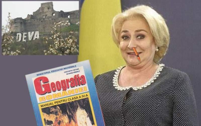 """Surse: Viorica Dăncilă îşi va lansa candidatura sub sloganul """"Alege răul cel mai prost"""""""