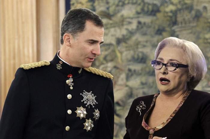 Dăncilă s-a contrazis o oră cu regele Spaniei spunând că Goya nu e pictor, ci solistul de la Voltaj