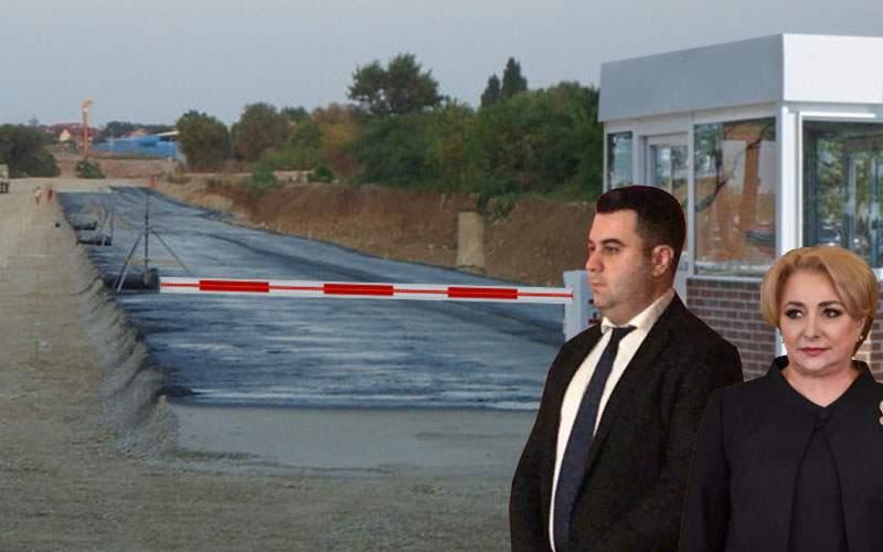 Statul contribuie şi el la primul metru de autostradă din Moldova: a pus barieră şi taxă