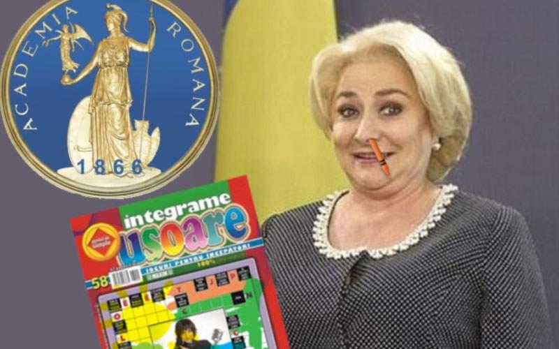 Dăncilă vrea să-și înjumătățească creierul, c-a văzut că românii sunt atrași de prostie