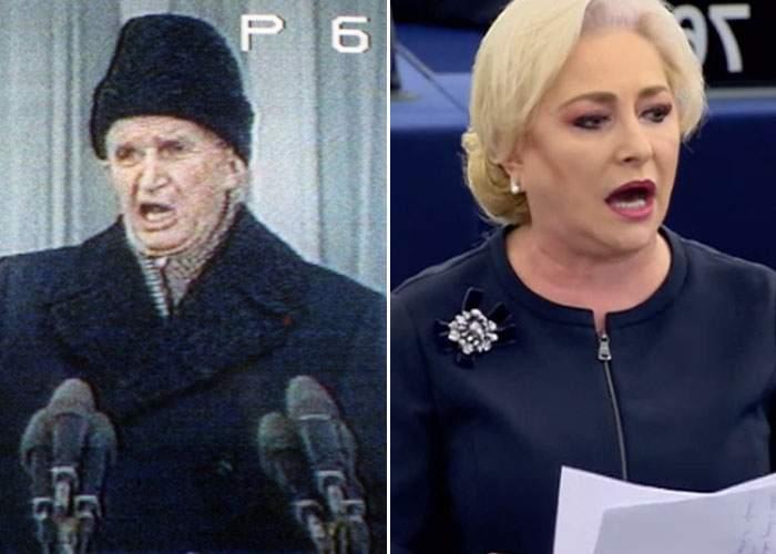Veşti bune! Ultimul politician român aplaudat în picioare ca Dăncilă a fost Ceauşescu în '89