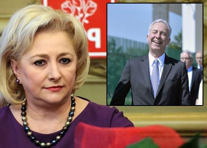 Ambasadorul Hans Klemm nu a comentat întâlnirea cu Dăncilă, pentru că încă nu s-a oprit din râs