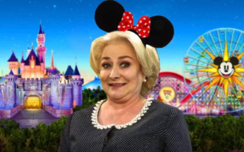 Viorica Dăncilă şi-a anulat întâlnirea cu Mike Pence ca să aibă mai mult timp la Disneyland