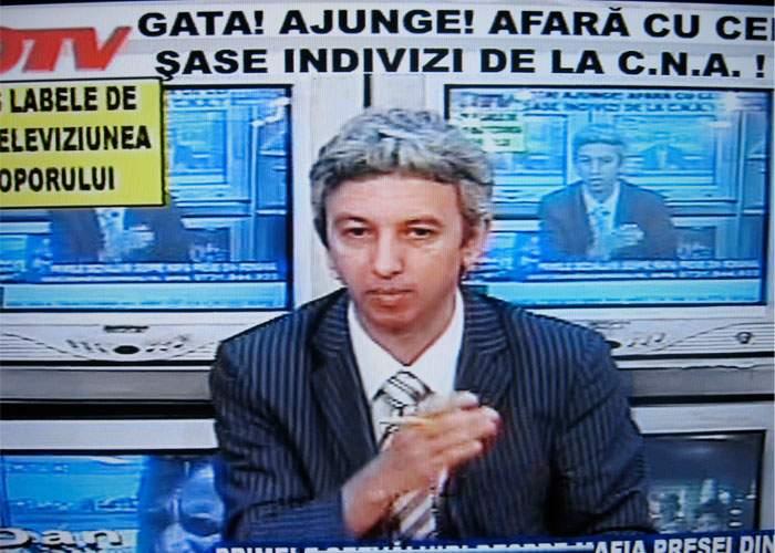 Dan Diaconescu, furios pe angajaţi fiindcă OTV nu e pe lista posturilor sancţionate de CNA