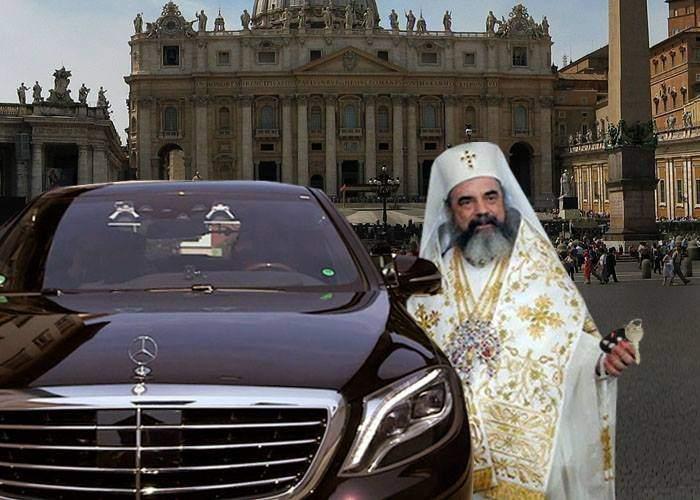 Reconciliere istorică? Patriarhul i-a dat Papei un Merţan, ca să nu mai umble cu Loganul, ca săracii