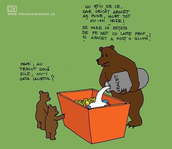 Ursul păcălit de internet