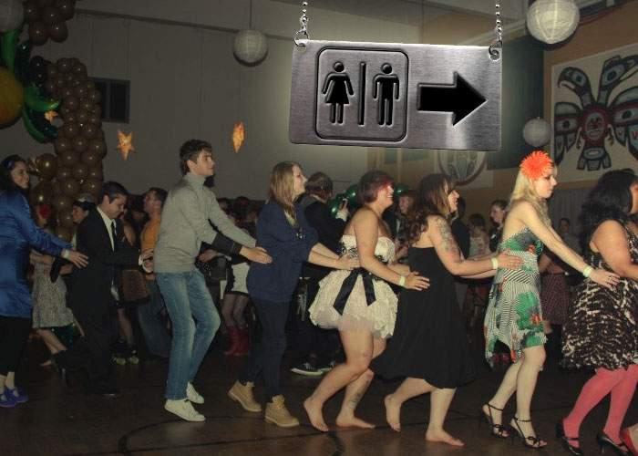 Sezonul nunţilor! Cum a apărut Dansul Pinguinului? De fapt nuntaşii se ţineau să nu facă pe ei