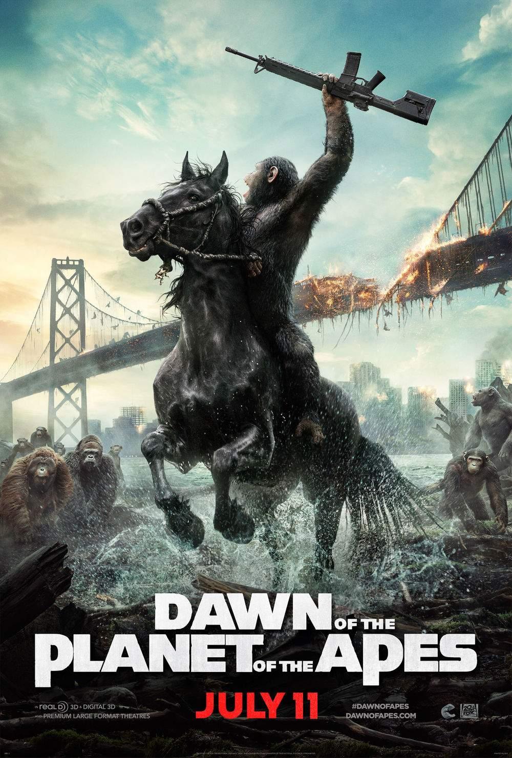 Dawn of the Planet of the Apes. Fă o poză cu primata până nu-ți ia beregata