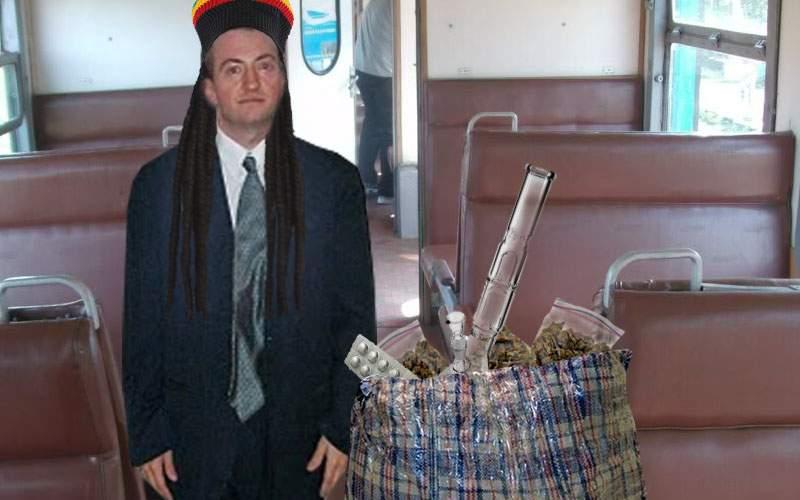 Cel mai idiot dealer de droguri! S-a dus cu trenul CFR spre Neversea şi a ajuns abia azi