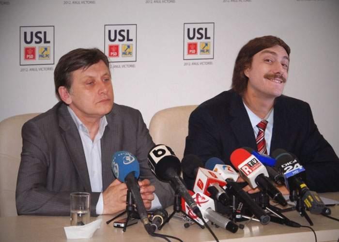 Crin a mai dat o lovitură de imagine: L-a convins pe Decebal Popescu să candideze din partea USL!