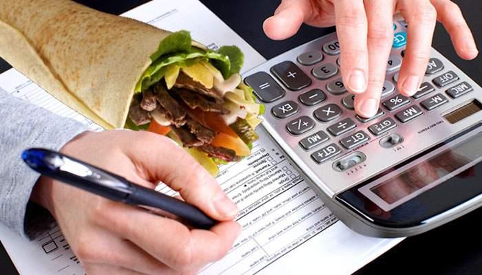 Sindromul ANAF se extinde. Românii trebuie să estimeze câte şaorme vor mânca în 2018 şi să plătească un sfert în avans